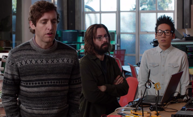Pied Piper team from HBO's Silicon Valley, image