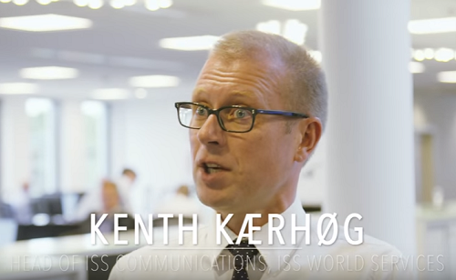 Kenth Kærhøg, Head of ISS communications, ISS world services