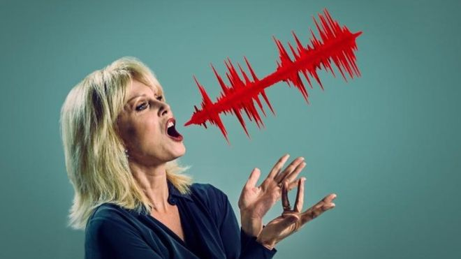 3D sculpture of Joanna Lumley's voice helps Barclays market IoT security with voice recognition