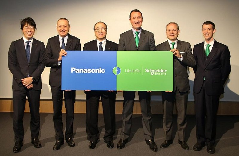 Panasonic and Schneider Electric Partner for Smart Building Energy Management